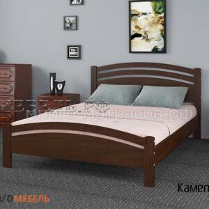 кровать камелия-3 дуб коньяк