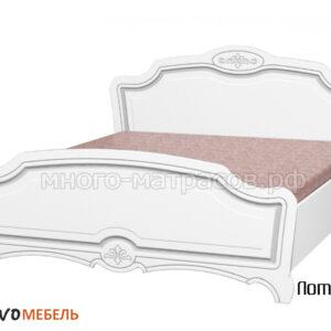 Кровать Лотос (белый)