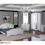 спальный гарнитур лотос белый