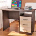 стол письменный фронда 1 венге - молочн