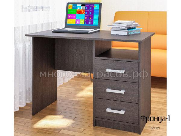 стол письменный фронда 1 венге