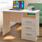 стол письменный фронда 1 дуб молочн