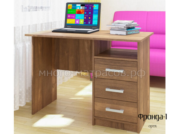 стол письменный фронда 1 орех