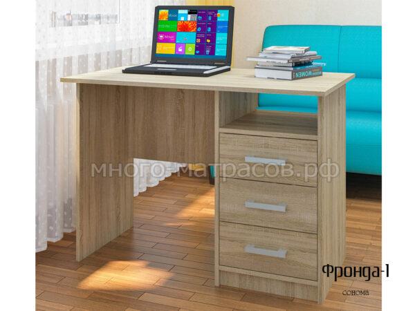 стол письменный фронда 1 сонома