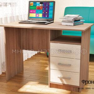 стол письменный фронда 1 ясень шимо темный- светл