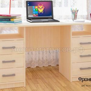 стол письменный фронда 2 дуб молочн