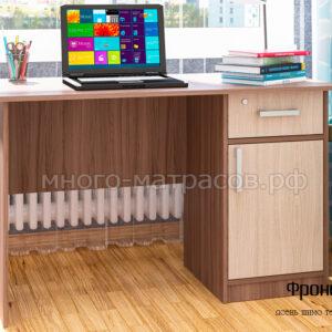 стол письменный фронда 3 ясень шимо темный- светл