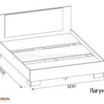 кровать лагуна-2 схема