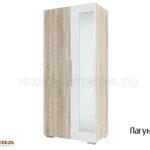 шкаф 2-х дверный лагуна-2 (бел)