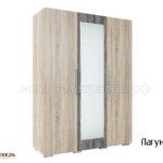 Шкаф трехдверный Лагуна-2