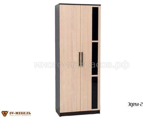 шкаф двухдверный эдем 2