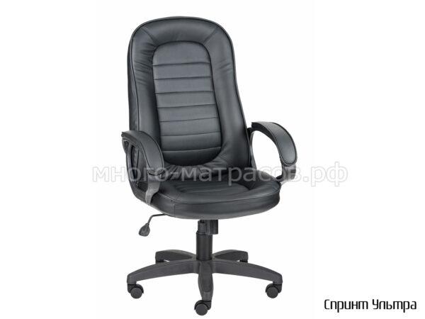 кресло руководителя спринт ультра черный