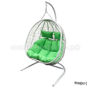 подвесное кресло флора двойное