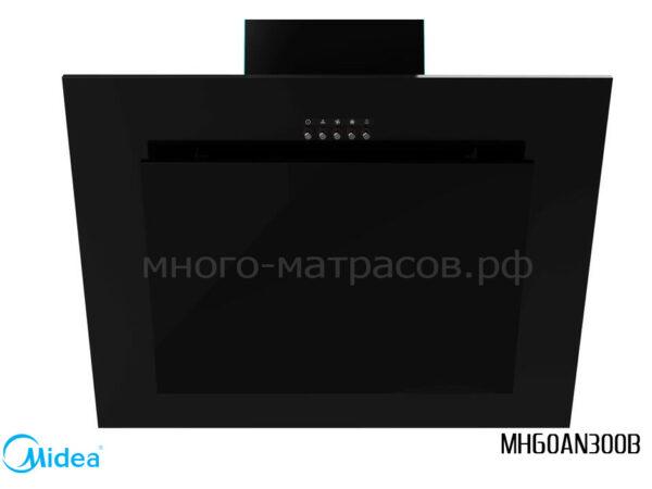 Вытяжка наклонная Midea MH60AN300B Черное стекло