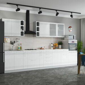 Кухня МДФ Мокко (Модульная система)