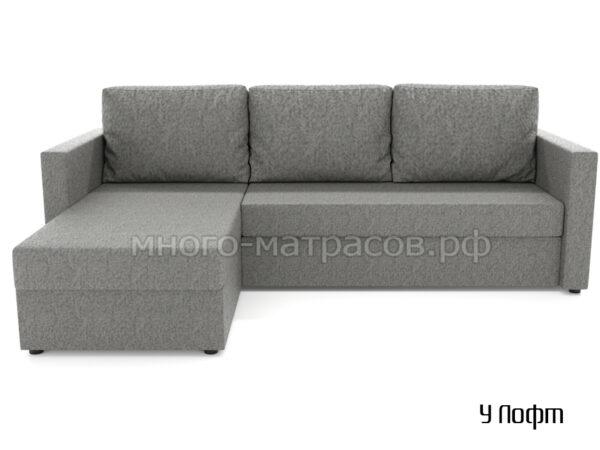 угловой диван лофт (