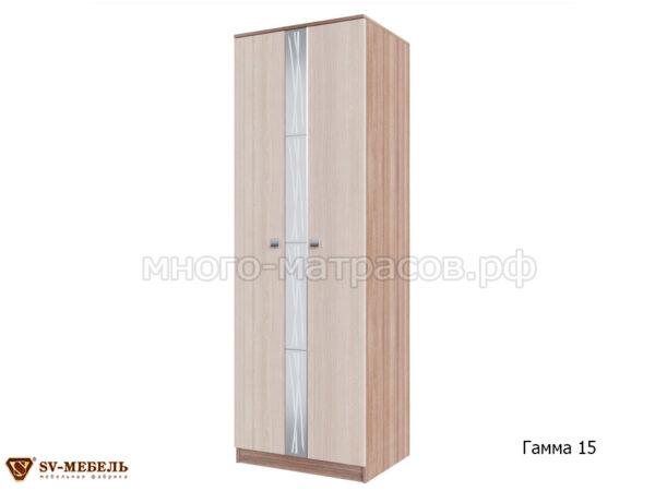 шкаф гамма 15 ясень шимо